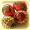 Бои за яйца от естествени материали